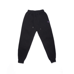 Symbol embroidery jogger pants(BK)